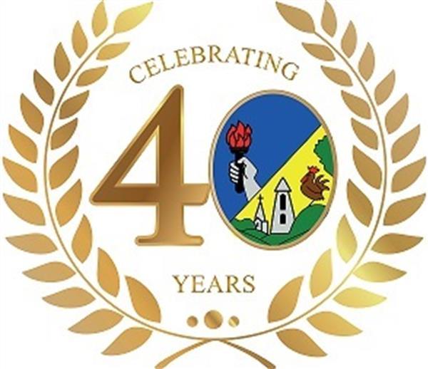 40th Anniversary Crest