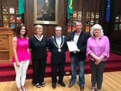Presentation from Lord Mayor