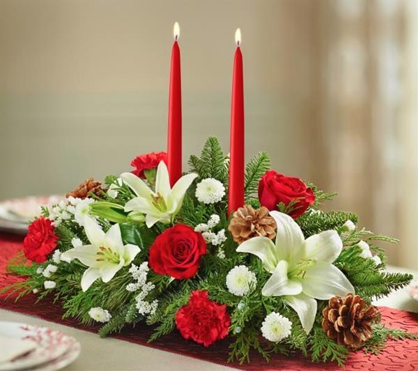 Christmas Flower Arranging Class