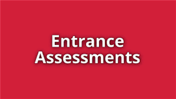 1Year Sep 2019 Entrance assessments