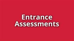 1Year Sep 2019 Entrance assessments