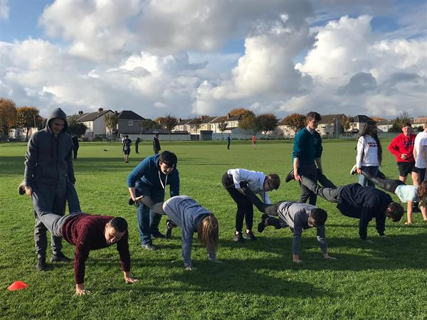 Transition Year Wellbeing Sports Day!