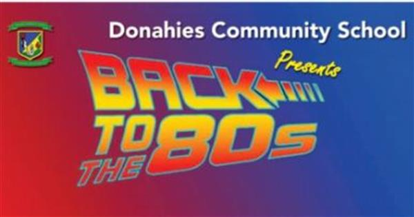 Back To The 80s- Tickets on Sale Now!
