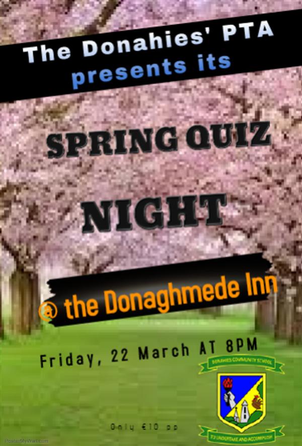 Quiz night fundraiser for school