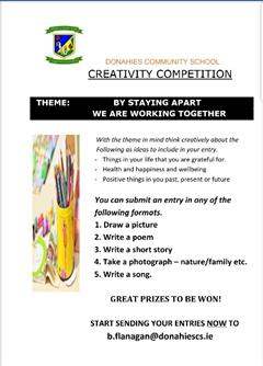 Competition Time!!- Closing Date May 29th
