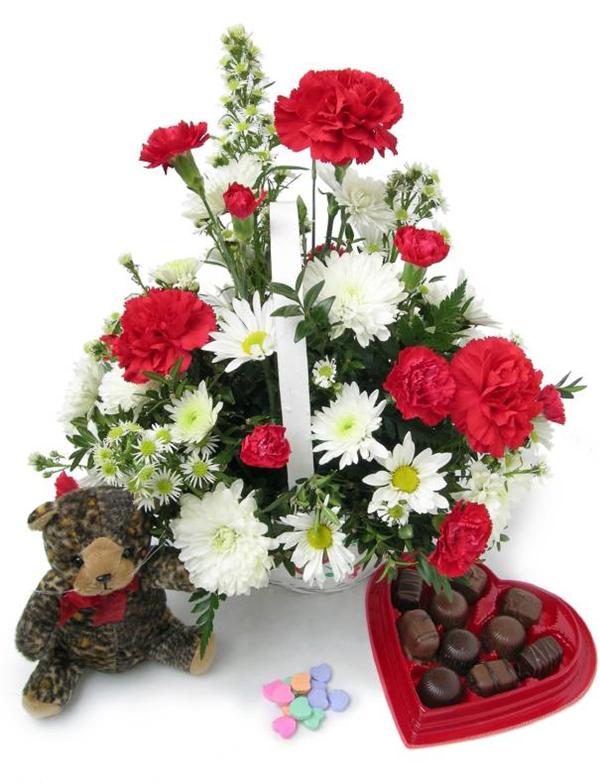 Helen's 'Valentine's' Flower Arranging Class