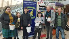Fundraising for Polish Students.