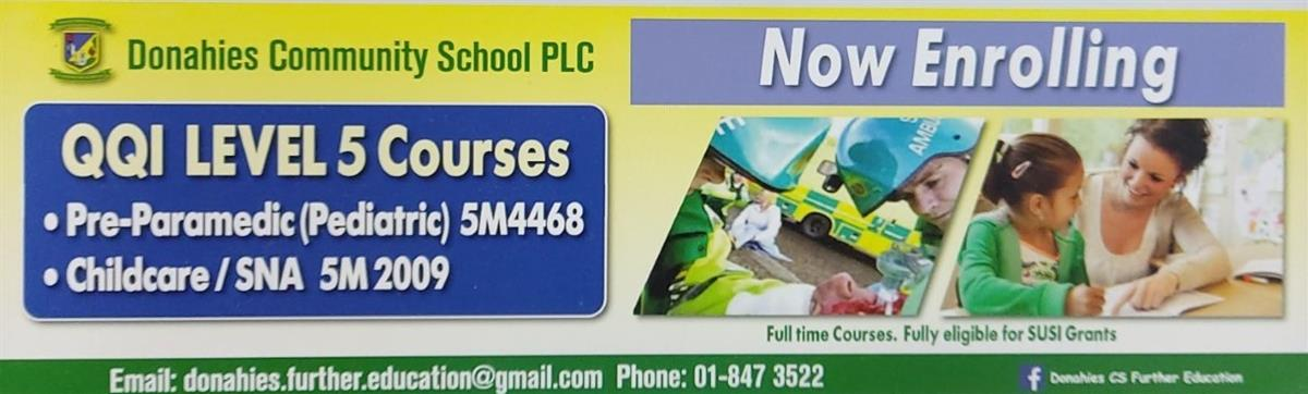 New PLC Courses starting in September!!! Get your name down today!