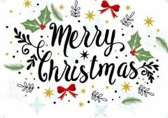 Happy Christmas from all at Donahies CS