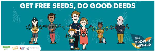 Grow it forward - get free seeds and do good deeds!